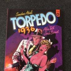 Cómics: TORPEDO 1936 TOMO 0 - BERNET / ALEX TOTH - 1ª EDICIÓN - TOUTAIN - 1988 - ¡NUEVO!. Lote 204823662