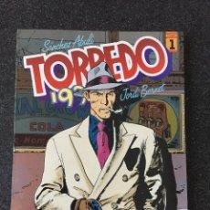 Cómics: TORPEDO 1936 TOMO 1 - BERNET / ABULÍ - 1ª EDICIÓN - TOUTAIN - 1988 - ¡NUEVO!. Lote 204823861