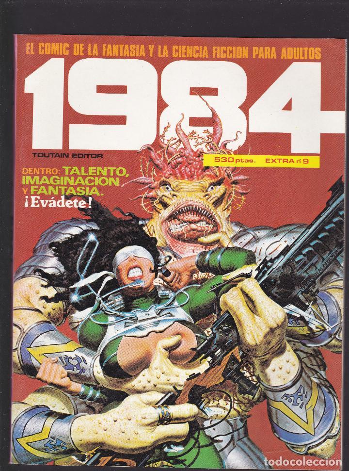 1984 - EXTRA Nº 9 - TOMO RETAPADO CONTIENE LOS Nº 49 - 50 Y 51 - TOUTAIN - (Tebeos y Comics - Toutain - 1984)