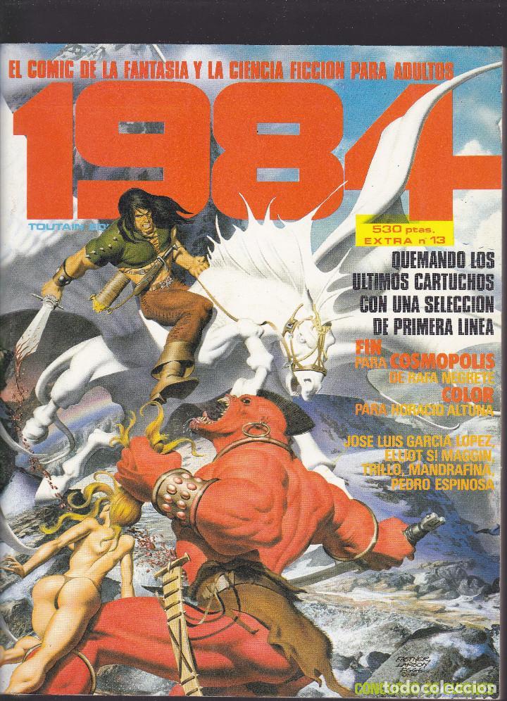 1984 - EXTRA Nº 13 - TOMO RETAPADO CONTIENE LOS Nº 61 - 62 Y 63 - TOUTAIN - (Tebeos y Comics - Toutain - 1984)