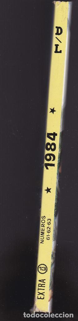Cómics: 1984 - EXTRA Nº 13 - TOMO RETAPADO CONTIENE LOS Nº 61 - 62 Y 63 - TOUTAIN - - Foto 3 - 205001285