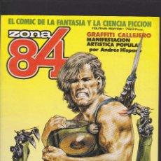 Cómics: ZONA 84 ZONA84 - EXTRA Nº 12 - TOMO RETAPADO CONTIENE LOS Nº 35 - 36 Y 37 - TOUTAIN -. Lote 205002107