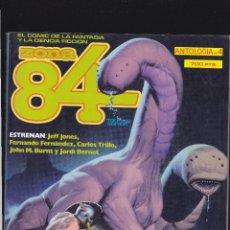 Cómics: ZONA 84 ZONA84 - ANTOLOGIA Nº 4 - TOMO RETAPADO CONTIENE LOS Nº 11 - 12 Y 13 - TOUTAIN -. Lote 205062198