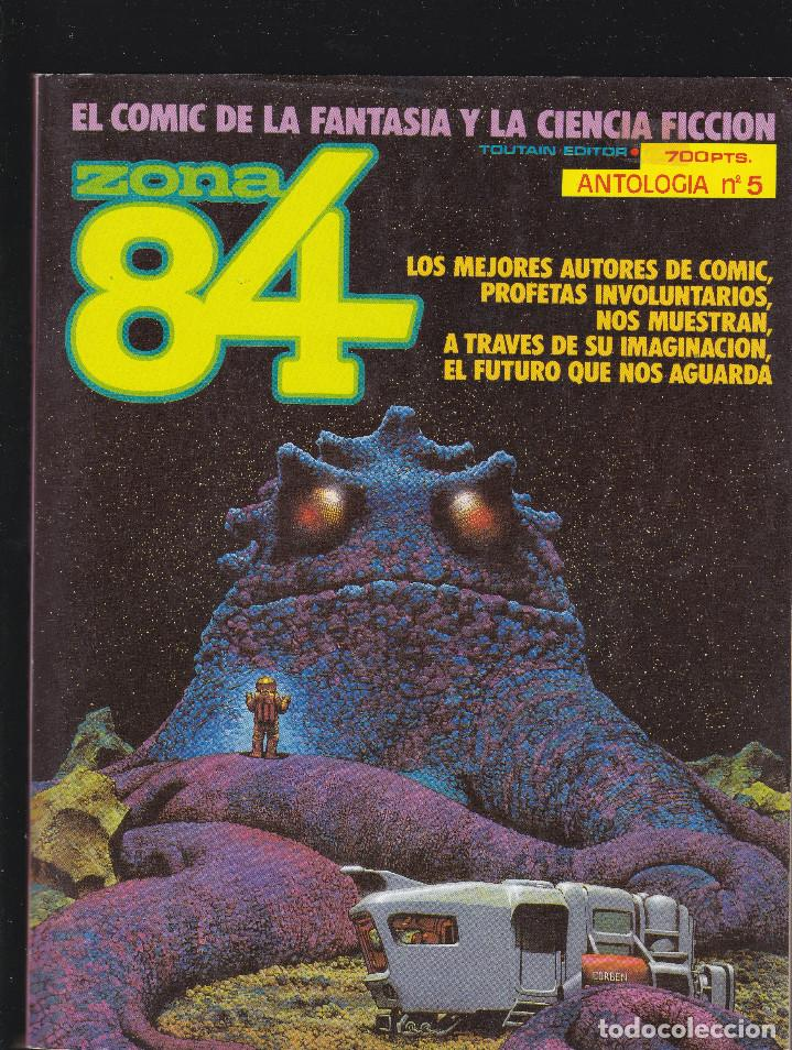 ZONA 84 ZONA84 - ANTOLOGIA Nº 5 - TOMO RETAPADO CONTIENE LOS Nº 14 - 15 Y 16 - TOUTAIN - (Tebeos y Comics - Toutain - Zona 84)