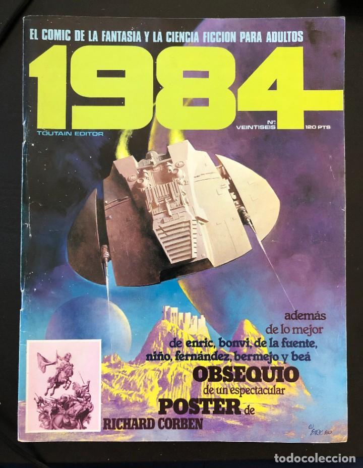 1984 Nº 26 TOUTAIN PORTADA LIGERO USO, INTERIOR BIEN (Tebeos y Comics - Toutain - 1984)