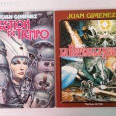 Cómics: LA ESTRELLA NEGRA Y CUESTIÓN DE TIEMPO JUAN GIMÉNEZ TOUTAIN EDITOR. Lote 205273458