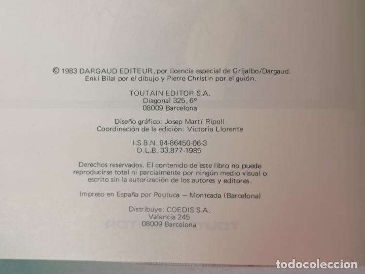 Cómics: PARTIDA DE CAZA ENKI BILAL TOUTAIN EDITOR TOUTAIN EDITOR - Foto 4 - 205273803