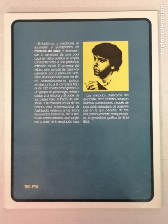 Cómics: PARTIDA DE CAZA ENKI BILAL TOUTAIN EDITOR TOUTAIN EDITOR - Foto 7 - 205273803