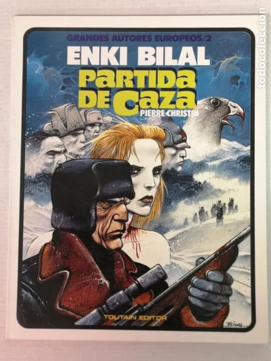 PARTIDA DE CAZA ENKI BILAL TOUTAIN EDITOR TOUTAIN EDITOR (Tebeos y Comics - Toutain - Otros)