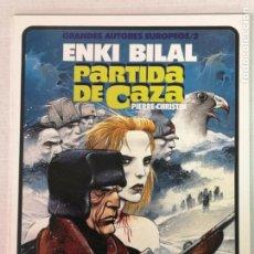 Cómics: PARTIDA DE CAZA ENKI BILAL TOUTAIN EDITOR TOUTAIN EDITOR. Lote 205273803