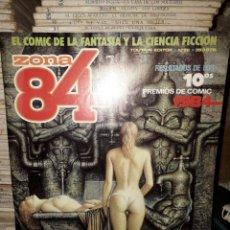 Cómics: LOTE DE 7 COMICS ZONA 84. Lote 205300855
