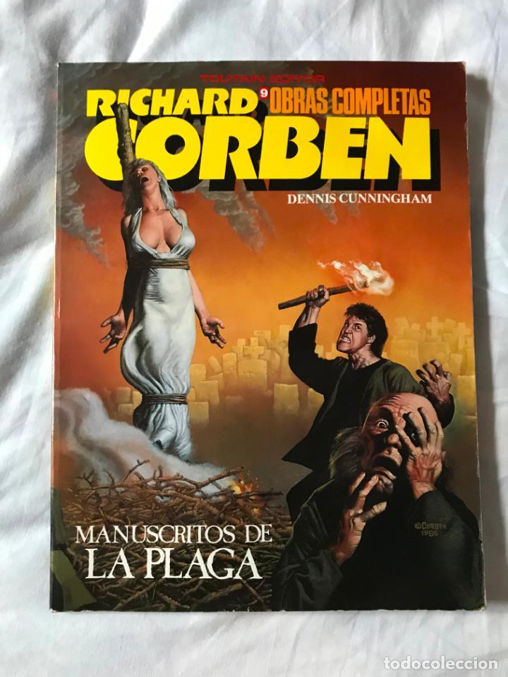 OBRAS COMPLETAS DE RICHARD CORBEN Nº 9 - MANUSCRITOS DE LA PLAGA. (Tebeos y Comics - Toutain - Otros)