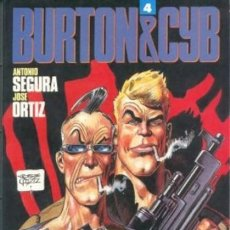 Cómics: BURTON & CYB Nº 4 (SEGURA / ORTIZ) TOUTAIN - IMPECABLE PRECINTADO - SUB01M. Lote 205351791