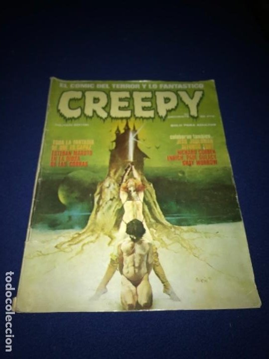 Cómics: COMIC CREEPY Nº 17 1980 - Foto 2 - 205362551