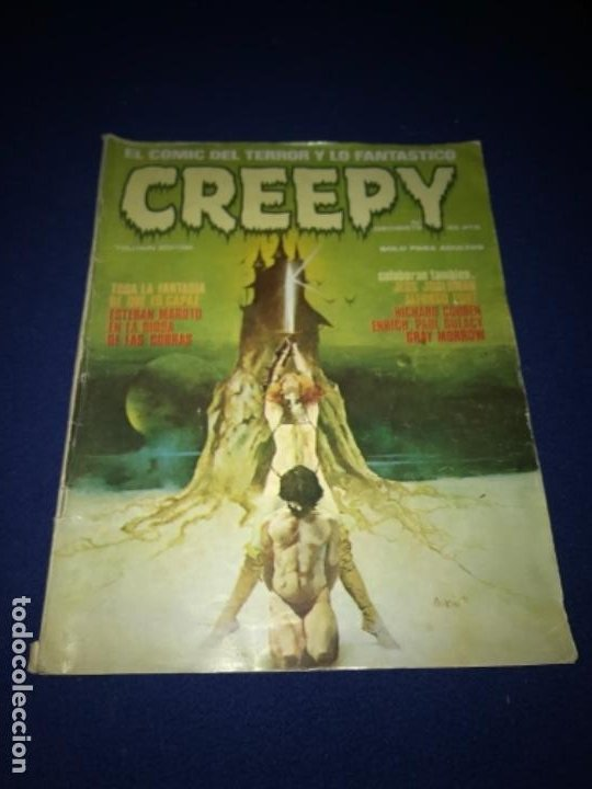 Cómics: COMIC CREEPY Nº 17 1980 - Foto 3 - 205362551