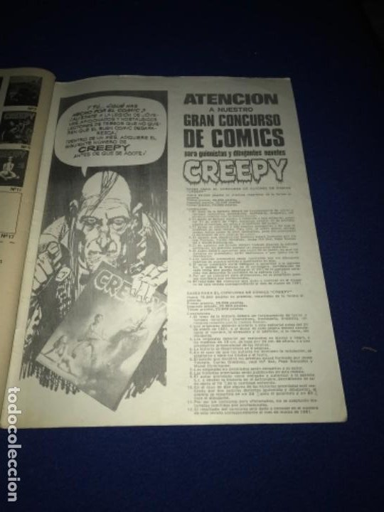 Cómics: COMIC CREEPY Nº 17 1980 - Foto 9 - 205362551