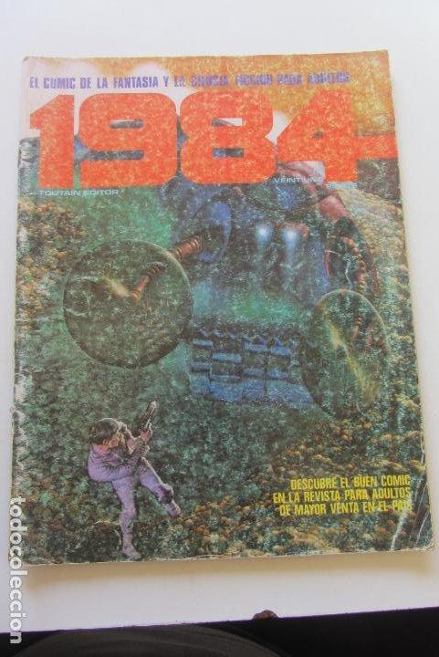 1984 Nº 21 TOUTAIN CORBEN BEA DE LA FUENTE 1980 TOUTAIN CX58 (Tebeos y Comics - Toutain - 1984)