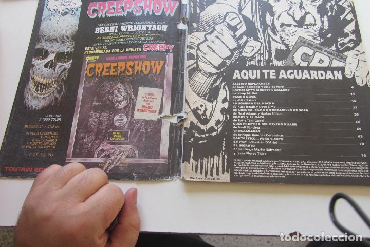 Cómics: CREEPY Nº 3 SEGUNDA EPOCA TOUTAIN CX58 - Foto 2 - 205367241