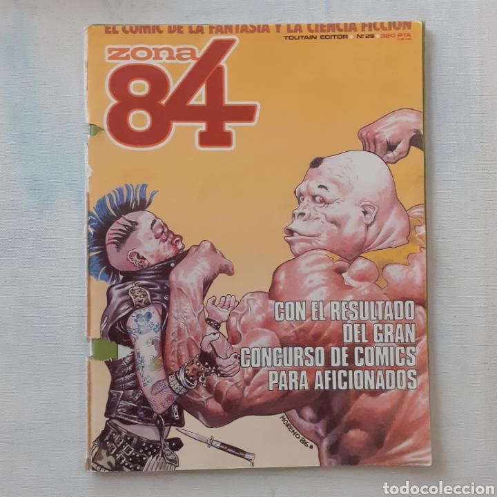 ZONA 84. 82 PAGINAS. TOUTAIN. (Tebeos y Comics - Toutain - Zona 84)