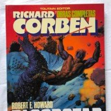 Cómics: ALBUMES TOUTAIN. OBRAS COMPLETAS Nº 7.BLOODSTAR RICHARD CORBEN, MUY BUEN ESTADO. Lote 205520578