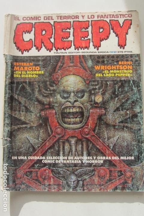 CREEPY Nº 8 2ª SERIE TOUTAIN CX58 (Tebeos y Comics - Toutain - Creepy)