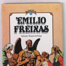 Cómics: EMILIO FREIXAS CUANDO EL CÓMIC ES NOSTALGIA TOUTAIN EDITORES. Lote 205544090