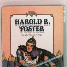 Cómics: HAROD FOSTER CUANDO EL CÓMIC ES NOSTALGIA TOUTAIN EDITORES. Lote 205544890