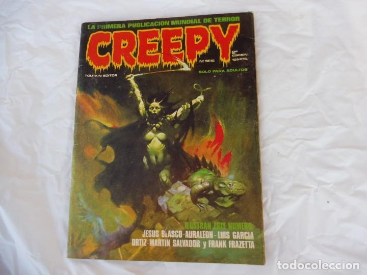 CREEPY TOUTAIN Nº 6 2ª EDICIÓN (Tebeos y Comics - Toutain - Creepy)