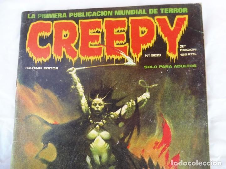 Cómics: Creepy Toutain nº 6 2ª edición - Foto 2 - 205737608