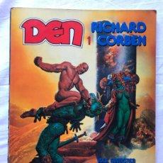 Cómics: DEN 1 RICHARD CORBEN, VIAJE FANTASTICO AL MUNDO DE NUNCANADA - TOUTAIN 1991. Lote 205738476