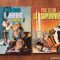 Cómics: LA SUPERVIVIENTE. Lote 205830885