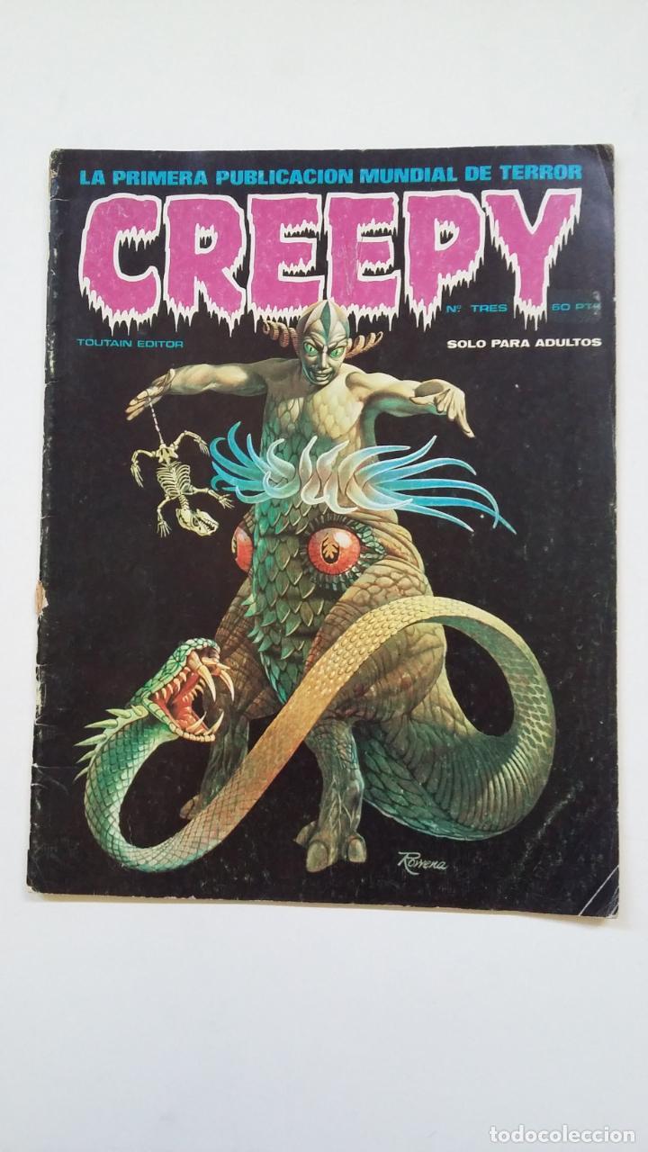 CREEPY Nº TRES 3. TOUTAIN EDITOR. TDKC55 (Tebeos y Comics - Toutain - Creepy)