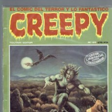 Cómics: LOTE DE 13 COMICS CREEPY N,3,4,5,6,13,34,52,54,55,65,67,68,5.EDITORIAL TOUTAIN 2 EPOCA 1980 - 1982. Lote 206189637
