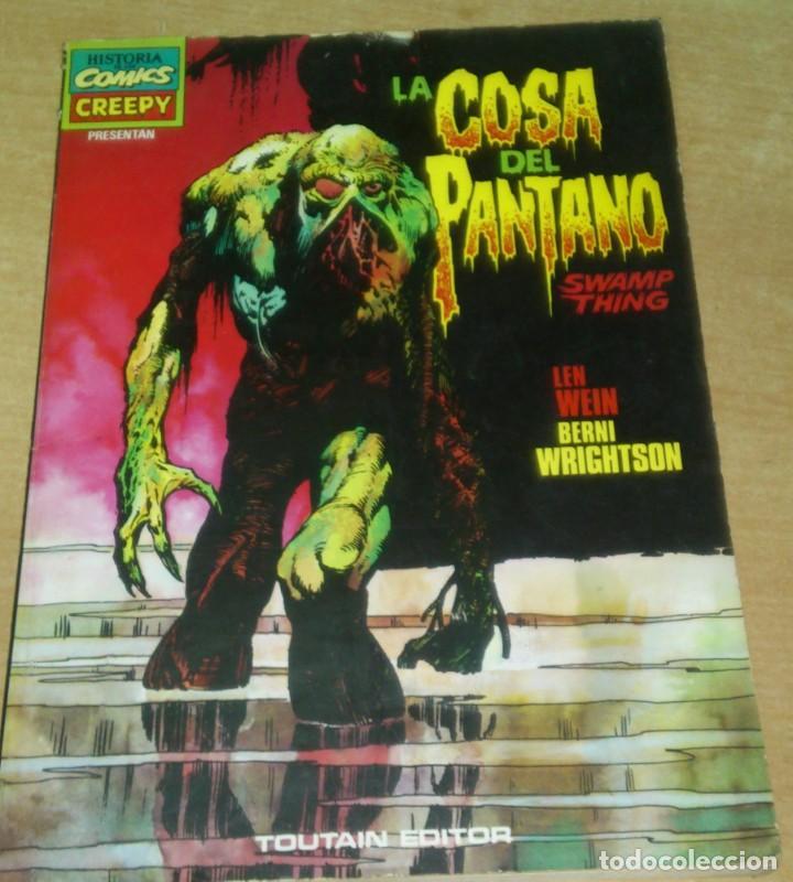 CREEPY PRESENTA LA COSA DEL PANTANO BERNI WRIGHTSON TOUTAIN (Tebeos y Comics - Toutain - Creepy)