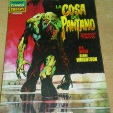 Cómics: CREEPY PRESENTA LA COSA DEL PANTANO BERNI WRIGHTSON TOUTAIN. Lote 206266703