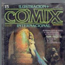 Cómics: COMIX N, 15 EDITOR TOUTAN FEBRERO DE 1982 EDICION LIMITADA. Lote 206299975