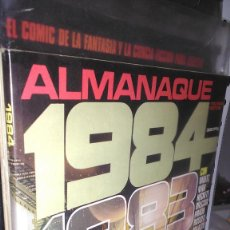 Cómics: * 1984 * ALMANAQUE * TOUTAIN EDITOR 1980 * LOTE 6 Nº IMPECABLES *. Lote 206465553