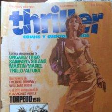 Cómics: THRILLER COMICS Y CUENTOS NEGROS Nº 3. TOUTAIN EDITOR. Lote 206509948