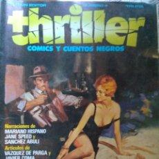 Cómics: THRILLER COMICS Y CUENTOS NEGROS Nº 4. TOUTAIN EDITOR. Lote 206509996