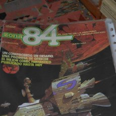 Cómics: * ZONA 84 * TOUTAIN EDITOR 1984 * LOTE DE 63 Nº + ALMANAQUES * IMPECABLES *. Lote 206537642