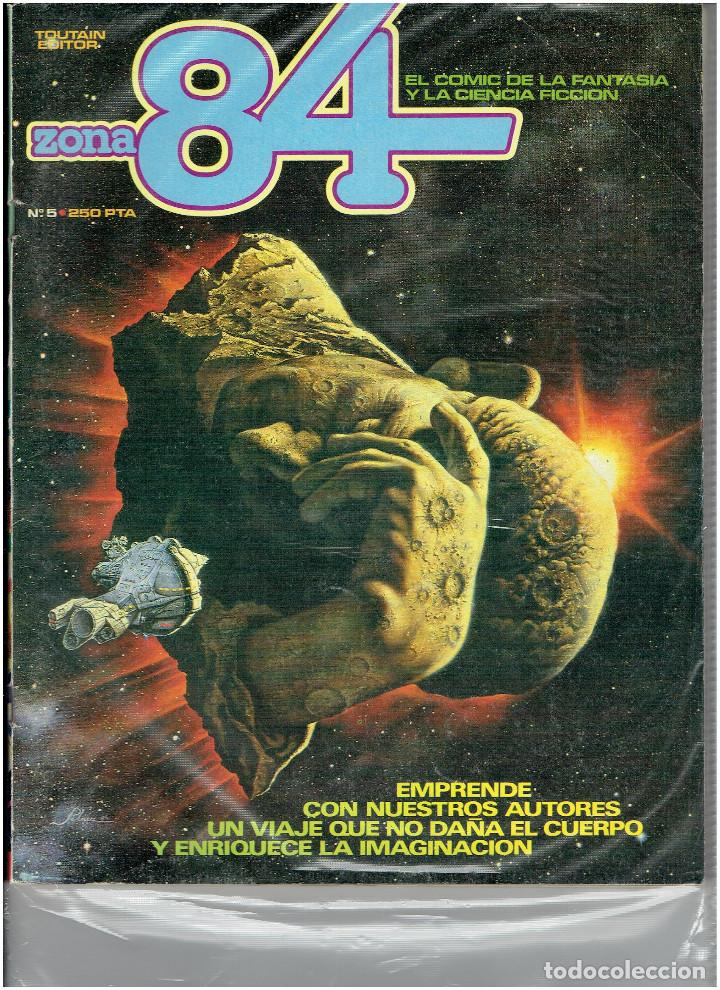Cómics: * ZONA 84 * TOUTAIN EDITOR 1984 * LOTE DE 63 Nº + ALMANAQUES * IMPECABLES * - Foto 7 - 206537642