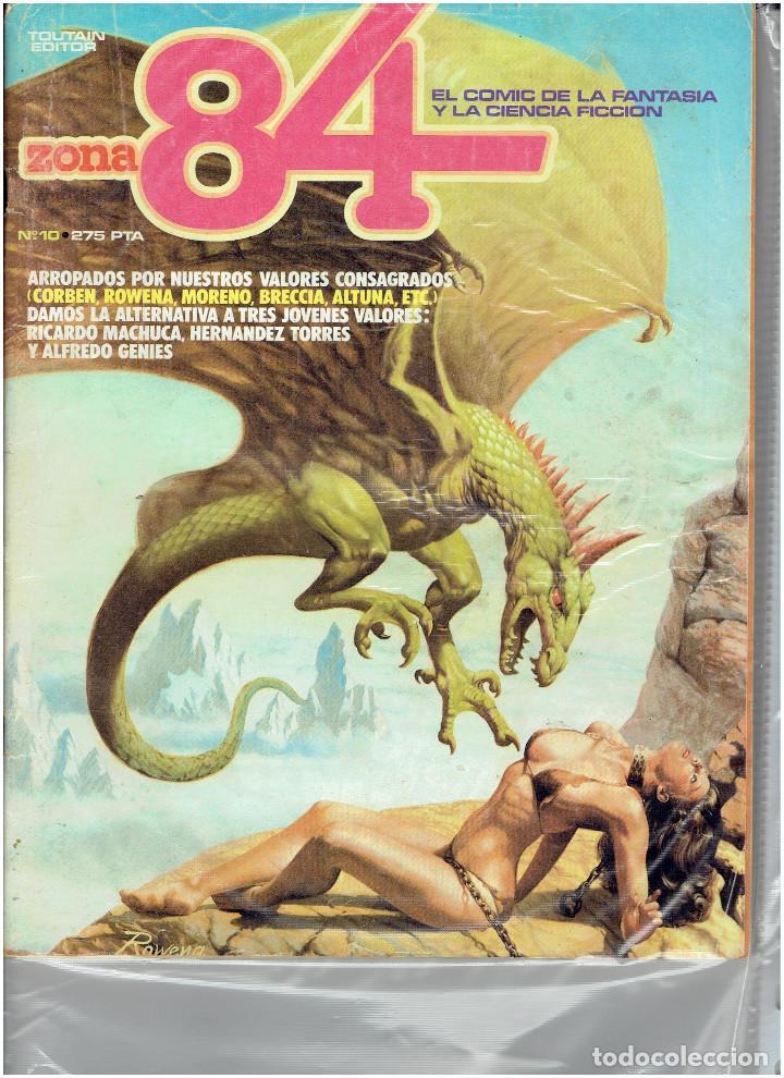 Cómics: * ZONA 84 * TOUTAIN EDITOR 1984 * LOTE DE 63 Nº + ALMANAQUES * IMPECABLES * - Foto 9 - 206537642