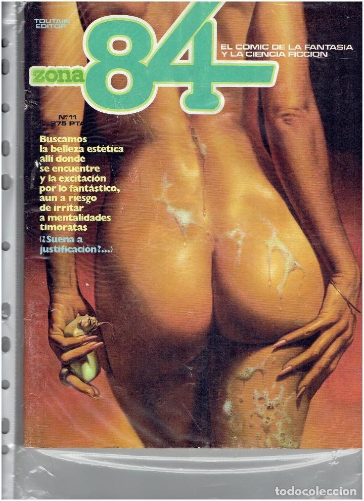 Cómics: * ZONA 84 * TOUTAIN EDITOR 1984 * LOTE DE 63 Nº + ALMANAQUES * IMPECABLES * - Foto 10 - 206537642