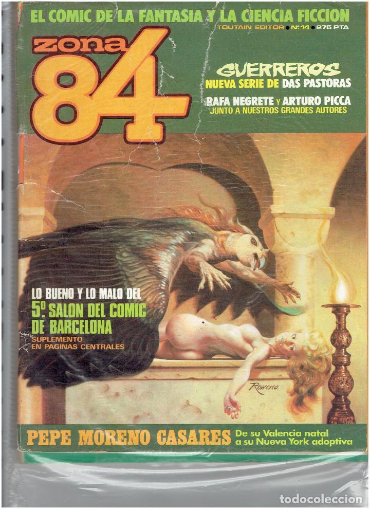Cómics: * ZONA 84 * TOUTAIN EDITOR 1984 * LOTE DE 63 Nº + ALMANAQUES * IMPECABLES * - Foto 11 - 206537642