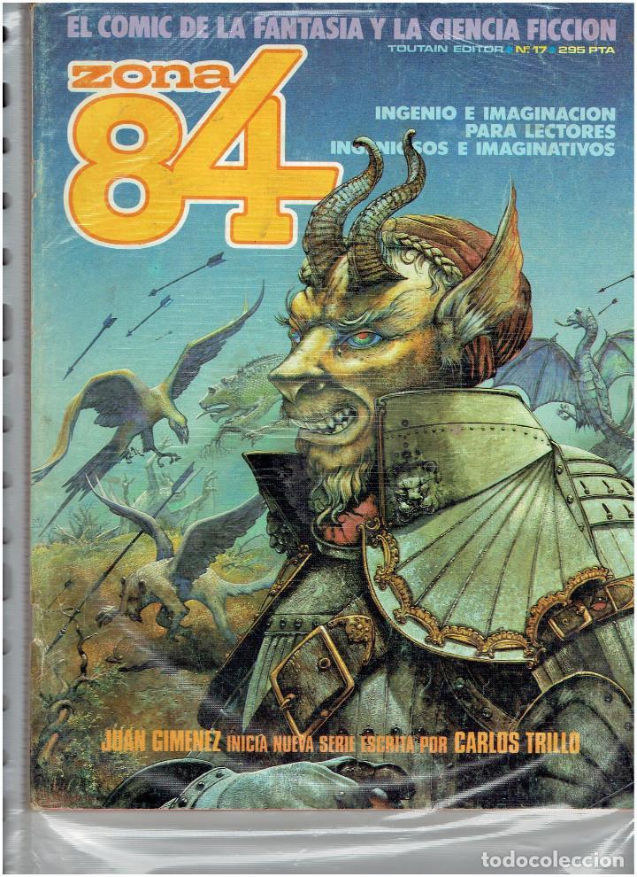 Cómics: * ZONA 84 * TOUTAIN EDITOR 1984 * LOTE DE 63 Nº + ALMANAQUES * IMPECABLES * - Foto 12 - 206537642