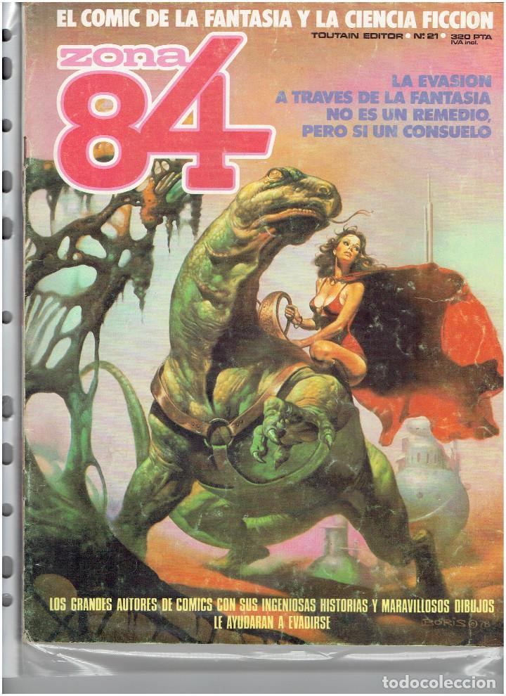 Cómics: * ZONA 84 * TOUTAIN EDITOR 1984 * LOTE DE 63 Nº + ALMANAQUES * IMPECABLES * - Foto 13 - 206537642