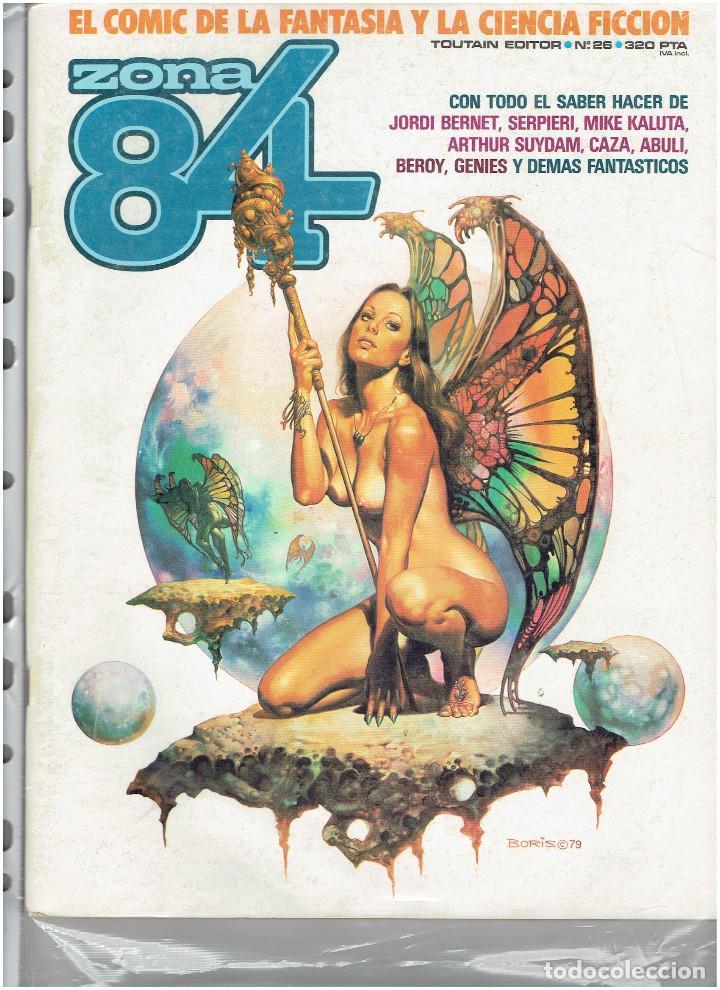 Cómics: * ZONA 84 * TOUTAIN EDITOR 1984 * LOTE DE 63 Nº + ALMANAQUES * IMPECABLES * - Foto 15 - 206537642