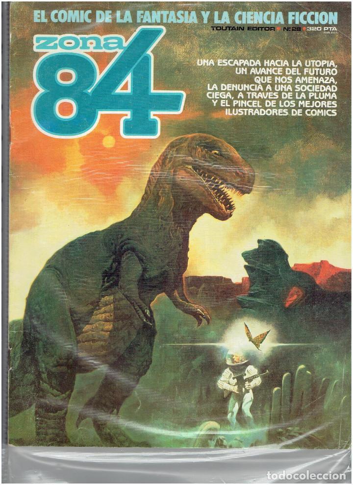 Cómics: * ZONA 84 * TOUTAIN EDITOR 1984 * LOTE DE 63 Nº + ALMANAQUES * IMPECABLES * - Foto 16 - 206537642