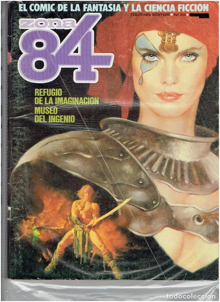 Cómics: * ZONA 84 * TOUTAIN EDITOR 1984 * LOTE DE 63 Nº + ALMANAQUES * IMPECABLES * - Foto 17 - 206537642