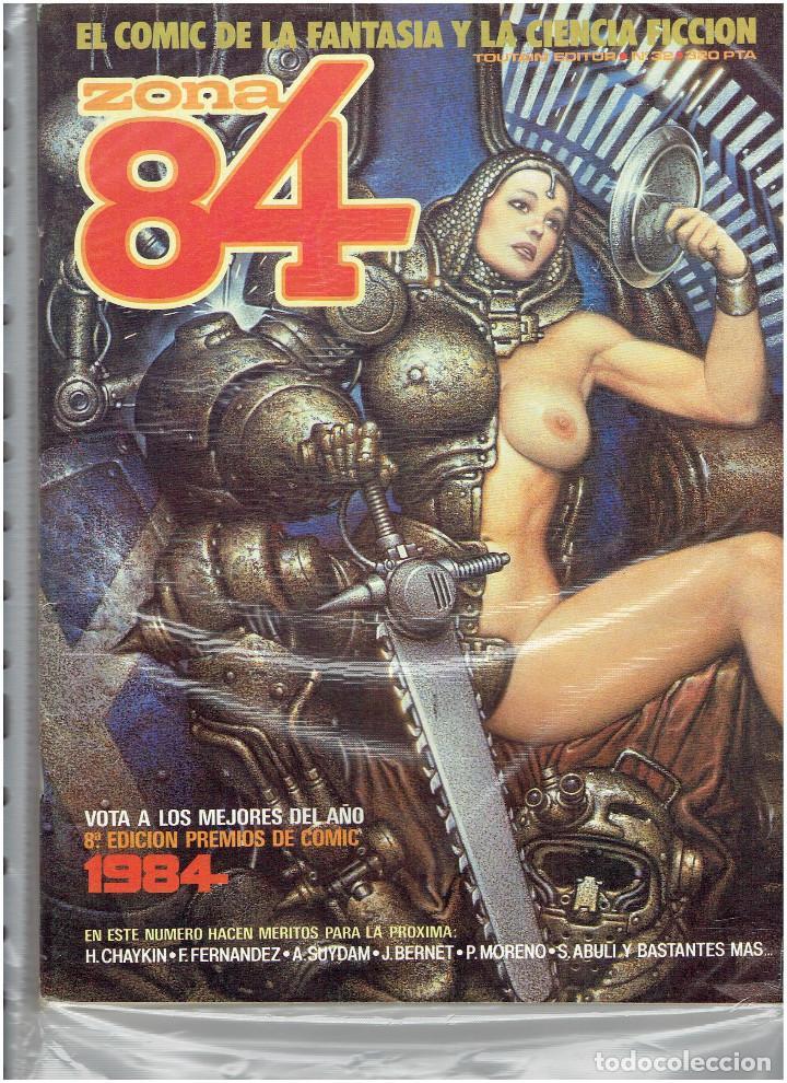 Cómics: * ZONA 84 * TOUTAIN EDITOR 1984 * LOTE DE 63 Nº + ALMANAQUES * IMPECABLES * - Foto 18 - 206537642